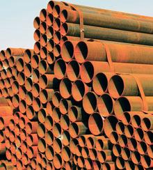 Surplus Steel pipe